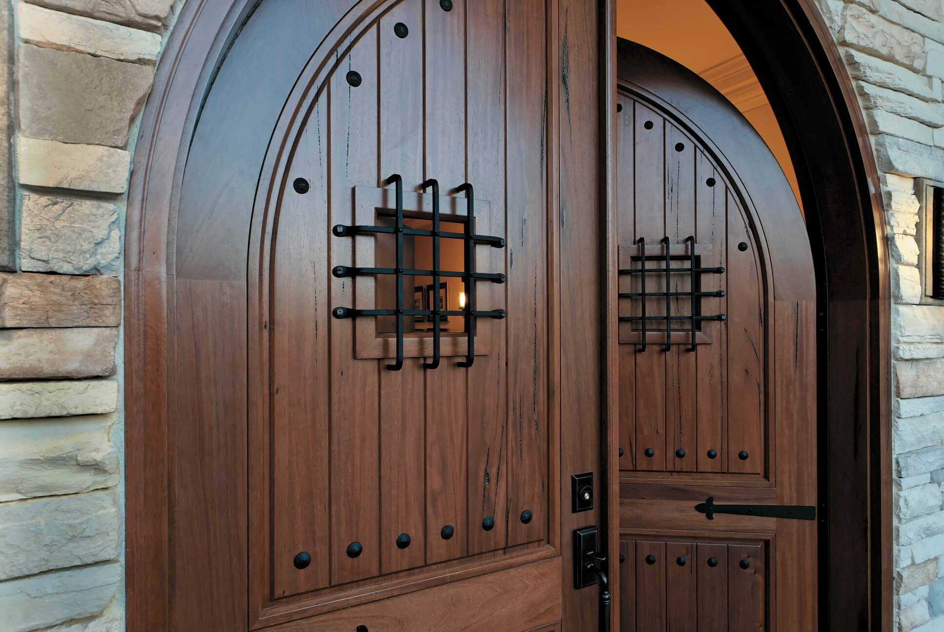 Alpine Wood entry doors